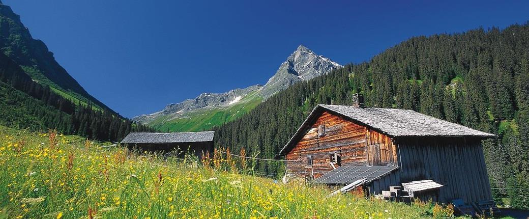Montafon - rozkvetlá alpská zahrada